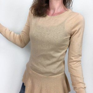 Lilly Pulitzer Aurora Tan Button Back SweaterLilly